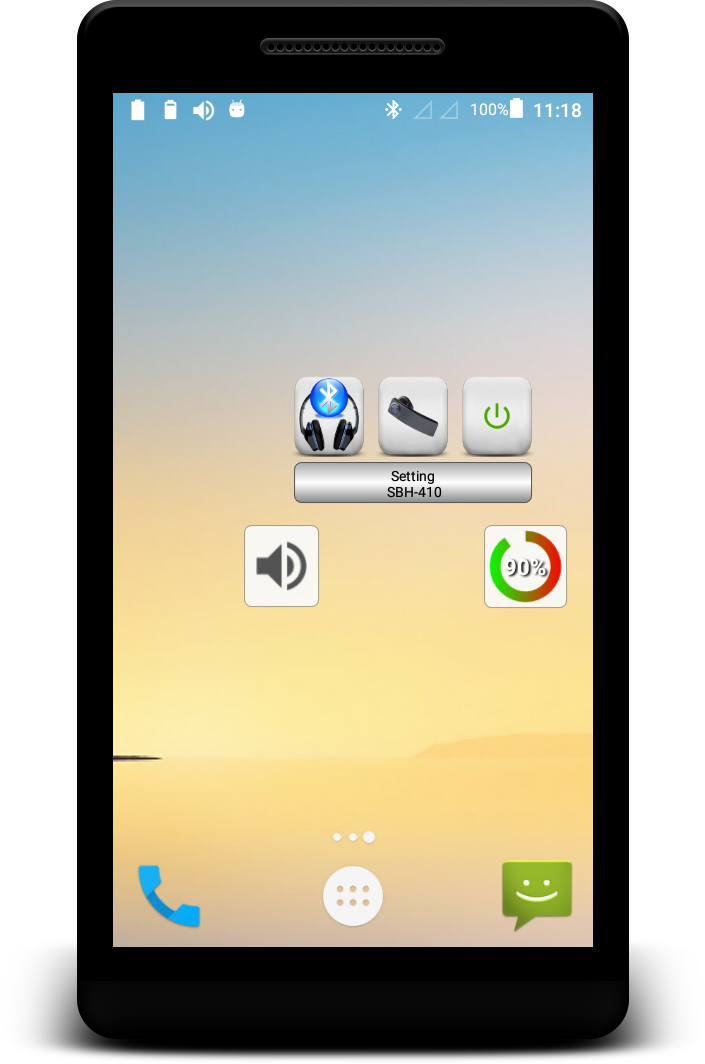 Bluetooth Audio Widget