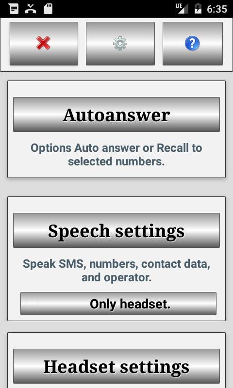 Headset auto answer
